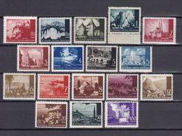 Kroatien - 2. Weltkrieg Besetzung - 1941/42 - Michel Nr. 47/50 + 52/62 + 64/65 - Postfrisch/Ungebr. M. Falz - Besetzungen 1938-45
