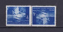 Kroatien - 2. Weltkrieg Besetzung - 1941 - Michel Nr. 54 K Kehrdruck - Postfrisch - Besetzungen 1938-45