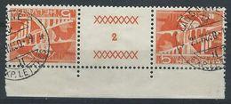 TT-/-051-. Tête-bêche  Avec Pont, N° 482b,  Obl., FEUILLE N° 2,  Cote 2.00 €   , Je Liquide - Tete Beche