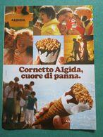 - ADVERTISING PUBBLICITA'  CORNETTO ALGIDA  - 1979 -  OTTIMO - Unclassified