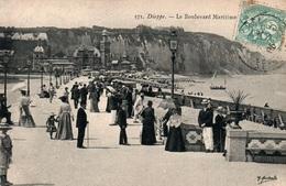 Dieppe Le Boulevard Maritime - Edition Marchand - Carte N° 571 - Dieppe