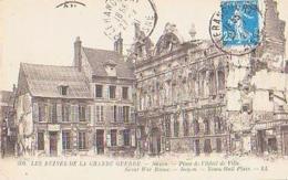 Oise        746        Noyon.Place De L'Hôtel De Ville ( Ruines ) - Noyon