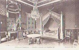 Oise        771        Compiegne.Château.Chambre à Coucher De Napoléon III - Compiegne