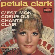 PETULA CLARK - C'est Mon Coeur Qui Chante Clair - 45 Rpm - Maxi-Singles