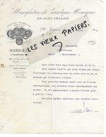 59 - Nord - FEIGNIES - Facture SAND - Manufacture De Carrelages Mosaïques En Grès Cérame - 1913 - REF  159C - 1900 – 1949