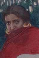 Basilio Cascella Unidentified Italian Painting Postcard - Pittura & Quadri