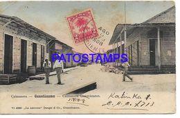 136942 CUBA GUANTANAMO CAIMANERA VIEW PARTIAL SPOTTED CIRCULATED TO FRANCE POSTAL POSTCARD - Cartes Postales