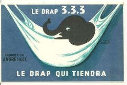 BUVARD ANCIEN / DRAP 3+3+3 - ANDRE HUET D'après VILLEMOT - Blotters