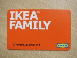 China IKEA Family Membership Card, 2013 - Phonecards