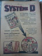 Reliure Revues Système D - Le Débrouillard Avril 1929 à Avril 1930 - Bricolage / Technique