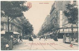 TOUT PARIS - Traversée Du Faubourg Du Temple à L'Avenue Parmentier - Arrondissement: 10