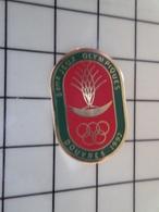 415a Pin's Pins / Beau Et Rare / THEME : JEUX OLYMPIQUES / 6emes JEUX OLYMPIQUES DOUVRES LA DELIVRANDE - Juegos Olímpicos