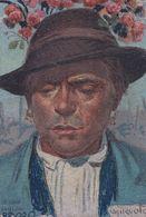 Basilio Cascella Unidentified Italy Rare Painting Postcard - Pittura & Quadri