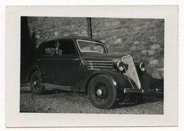 PHOTO ANCIENNE Photographie Automobile Voiture Auto Véhicule 1950 Modèle à Identifier Citroën Renault Peugeot  Fiat ? - Automobili