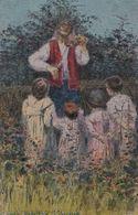 Basilio Cascella Italian Painter Rare Old Painting Postcard - Pittura & Quadri