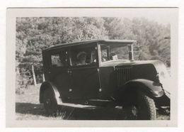 PHOTO ANCIENNE Photographie Automobile Voiture Auto Véhicule 1935 Modèle Ancien Renault - Automobili