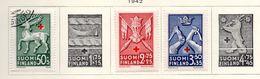 1942 - FINLANDIA - Mi. Nr. 254+256+257 - LH/USED -  (UP.70.47) - Finland