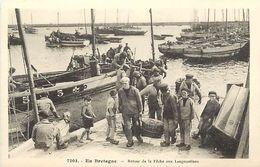 - Finistère - Ref-E536- En Bretagne N° 7205 - Retour De La Pêche Aux Langoustines - Pêche En Mer - Pêcheurs -- - France