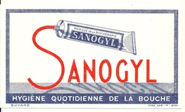 BUVARD ANCIEN / DENTIFRICE SANOGYL - Blotters