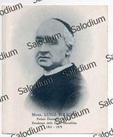 Mons. Luigi Biraghi - Prelato Domestico Di Sua Santità Papa  - Santino - Holy Card - Santini