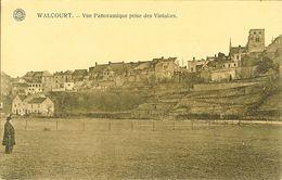 """CP De WALCOURT """" Vue Panoramique Prise Des Vintailes """" - Walcourt"""