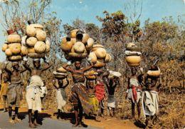 Cotonou (Dahomey) - Marchandes De Calebasses - Dahomey