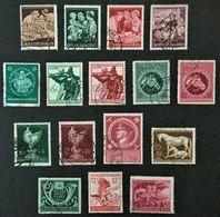 1944-1945 Mutter Und Kind Mi.869-872, Hitler Mi.887, Albertus-Universität Mi.896,Tiroler Landesschießen Mi.897-898,etc. - Deutschland