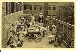 """CP De RAVELS ( Raevels ) """" O.L.Vrouw Van De Kempen Open-lucht-school Voor Zwakke Meisjes , Het Solarium """" - Ravels"""