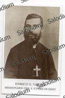 ENRICO S. VERJUS - Missionario Del S. Cuore Di Gesù - OLEGGIO - Santino - Holy Card - Andachtsbilder