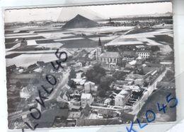 59 FLERS En ESCREBIEUX ( Nord ) Vue Générale - Aérienne Village Mines Charbon Terril  - CPSM N° 1 F A Cim Généalogie - Altri Comuni