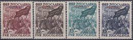 YUGOSLAVIA 708-711,unused - 1945-1992 Repubblica Socialista Federale Di Jugoslavia