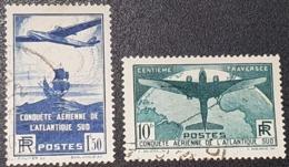 N° 320/321  Avec Oblitération Cachet à Date D'Epoque De 1936  TTB - Gebraucht