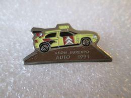PIN'S    CITROEN  ZX  RALLYE RAID  LYON  EUREXPO - Citroën