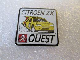 PIN'S    CITROEN  ZX  RALLYE RAID   OUEST - Citroën