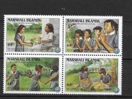 1986 MNH Marshal Mi 101-4, Postfris ** - Movimiento Scout