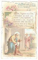 CHROMO BOUASSE LEBEL 1528 NOTRE SEIGNEUR EST CE PERE BIENVEILLANT QUI RECOIT AVEC AMOUR  IMAGE PIEUSE HOLY CARD SANTINI - Devotion Images