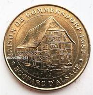 Monnaie De Paris 68.Ungersheim - Maison Gommersdorf  Ecoparc 2002 - Monnaie De Paris