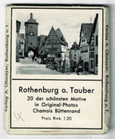 Ref 1384 - Pack Of 20 Small Photographs Of Rothenburg O. Tauber Germany - Lieux