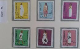 1975 Somalië Frankeerzegels Klederdrachten - Somalia (1960-...)