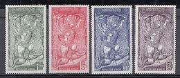 Khmere - 1973 Airmail - Garuda  Set Of 4 Mnh - Kampuchea
