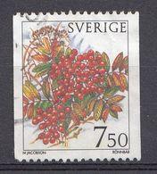 Suède 1996  Mi.Nr.: 1924 Winterbeeren   Oblitérés / Used / Gestempeld - Gebraucht