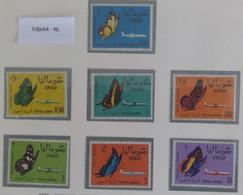 1961 Somalië Luchtpostzegels Vlinders - Somalia (1960-...)