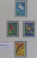 1968 Somalië Luchtpostzegels Vogels - Somalia (1960-...)