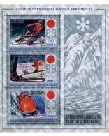Ref. 73450 * MNH * - BURUNDI. 1972. MEDALS OF THE XI WINTER OLYMPIC GAMES. SAPPORO 1972 . 11 JUEGOS OLIMPICOS DE INVIERN - Burundi