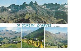 73 SAINT SORLIN D'ARVES Cpm Multivues - Francia