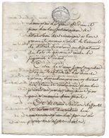 JUGEMENT 1792 ENTRE JEAN CAMPREDON DE VALENCE SIEUR SAUNIER ET SIEUR JAUBERT - DOCUMENT ANCIEN - Documents Historiques