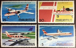 Mauritius 1977 Inaugural Air Mauritius Flight Aircraft MNH - Mauricio (1968-...)