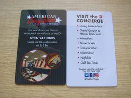 D Concierge Las Vegas - Cartas De Hotels