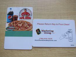 Pepsi Papa John's Pizza - Cartas De Hotels