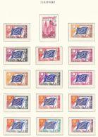 Europa-CEPT - Europarat - 1958/76 - Sammlung 1. - Postfrisch/Gest. - Europa-CEPT